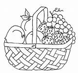 Coloring Fruit Pages sketch template