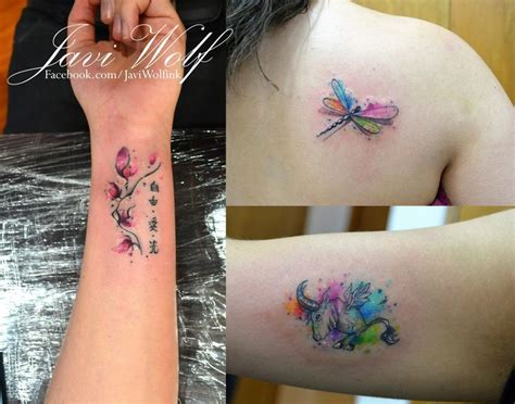 Flower Tattoo With Children's Names