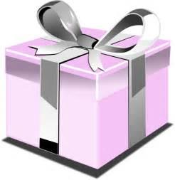 Pink Present Clip Art