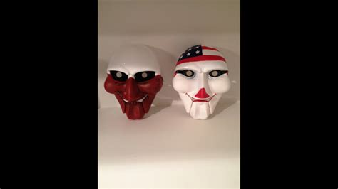 How To Make Real Halloween Payday Costume Masks Of Dallas