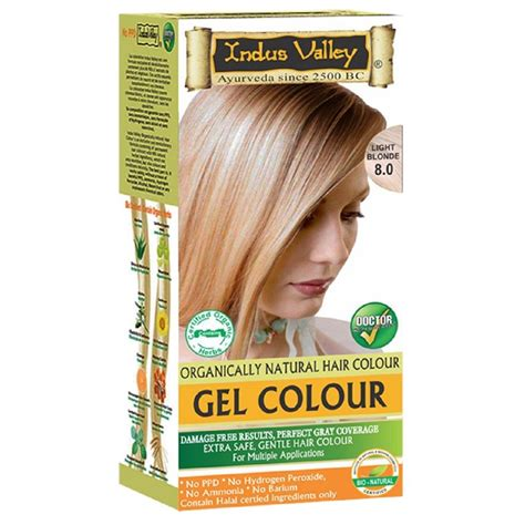 herbal based natural organic hair dye colour kit