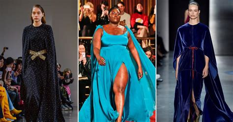 Capes Photos Top Style Trends From The New York