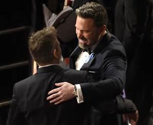 Matt Damon and Ben Affleck at the Oscars: A bromance for ...