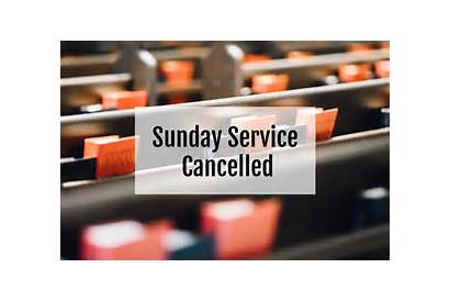 Church Cancelled Sunday Song Community