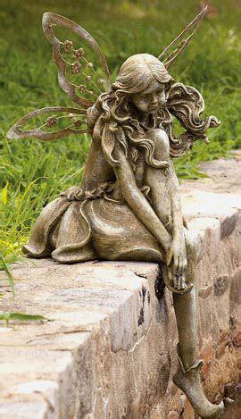 Reflections  Sitting Fairy Statuary Reflective, Wistful