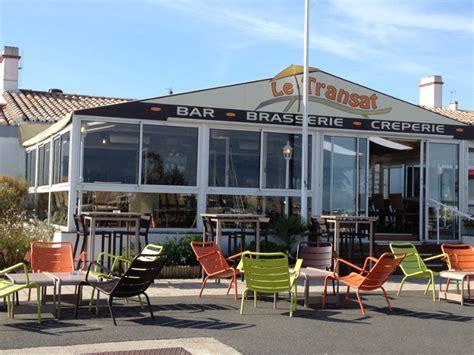 le transat bar restaurant restaurants noirmoutier en l ile vend 233 e tourisme
