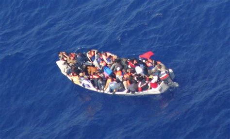 Overcrowded Refugee Boat by Unhcr Survivors Of Sea Voyage To Malta Say Seven Somali