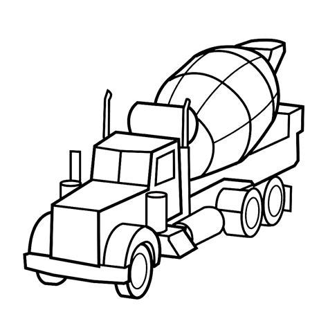Kleurplaten Vrachtwagen Met Kraan by Vrachtauto S Kleurplaten Kleurplatenpagina Nl