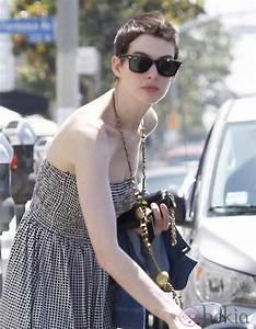 Anne Hathaway con el pelo corto Foto en Bekia Belleza