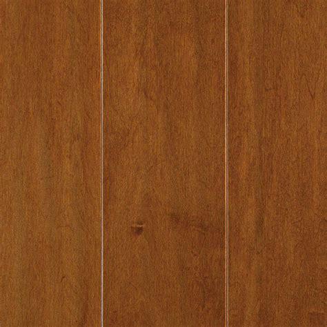 engineered maple hardwood mohawk light amber maple 3 8 in t x 5 in w x random length soft scraped engineered hardwood