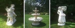 Statue Deco Jardin Exterieur : d coration de jardin paris poteries et statues en pierre reconstitu e fontaines et mobilier ~ Teatrodelosmanantiales.com Idées de Décoration