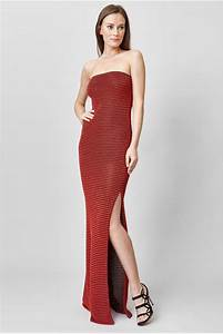 c39est ma robe jay ahr robe longue bustier rouge With bustier robe