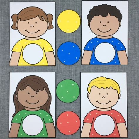 learning friends color match for preschool and 337   ba52c4152911c51b7614102ab49ab338