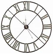Wall Clocks Large by Large Iron Wall Clock Indoor Roman Numerals Clock Home Accessories