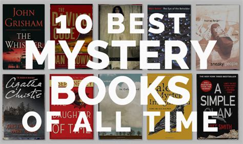 10 Best Mystery Books Of All Time