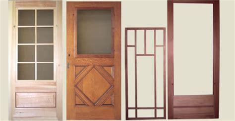 wooden screen doors wood screen doors for bungalows cities