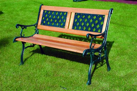 kingfisher garden bench traditional wooden decorative