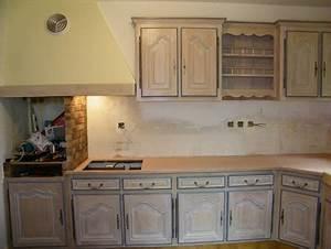 Une cuisine integree relookee par une ceruse atelier de for Repeindre un escalier en blanc 11 une cuisine integree relookee par une ceruse atelier de