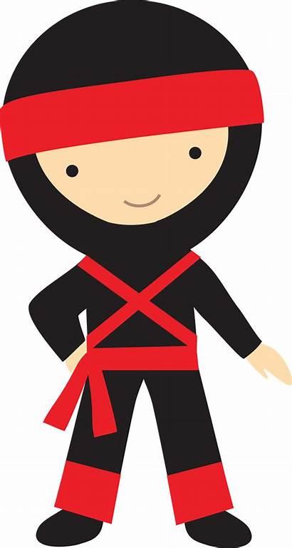 Ninja Clipart Japanese Clip Printable Ninjas Kid