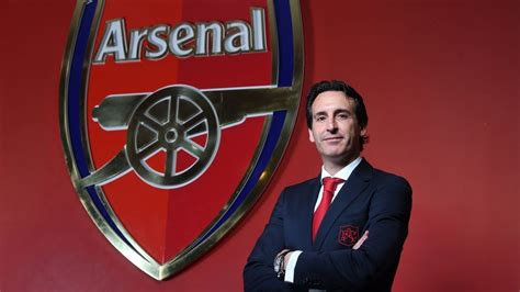 unai emerys  day  arsenal head coach