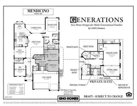 multi generational house plans single story today multi generational fami