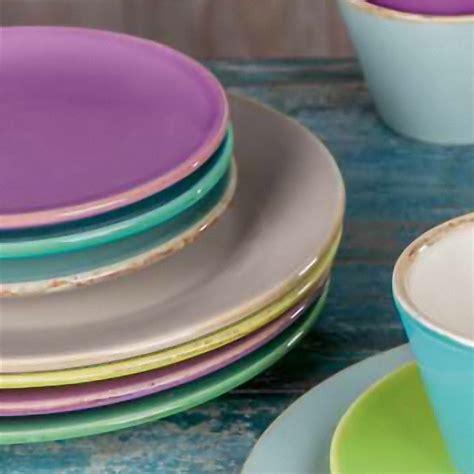 italienische keramik von gruen form fruehstuecksteller