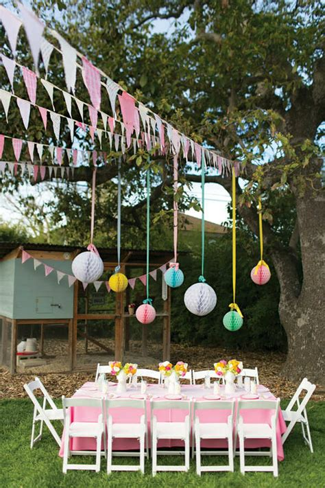 10 1st birthday party ideas for tinyme 10 kids backyard party ideas garden birthday