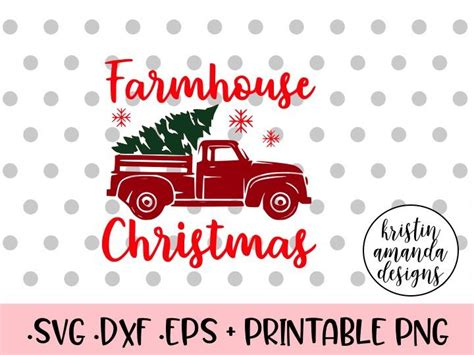 Find beautiful, timeless png and svg cut files for scrapbooking, card making, and more. Farmhouse Christmas SVG DXF EPS PNG Cut File • Cricut ...