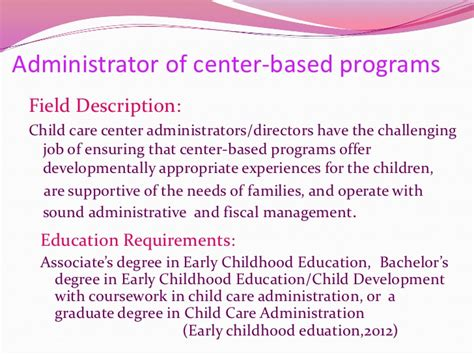 career possibilities for early childhood education 959 | career possibilities for early childhood education 4 728