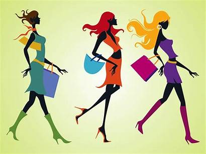 Fashionistas Shopping Outlet Freevector Graphics Dossier Applications