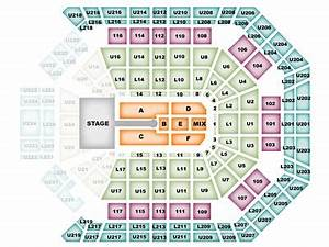 Square Garden Seating Chart Phish Mgm Grand Garden Arena Seating Chart With Seat Numbers