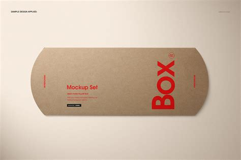 All free mockups include smart objects for easy edit. Kraft Paper Box Front View Mockups - Free PSD Mockups