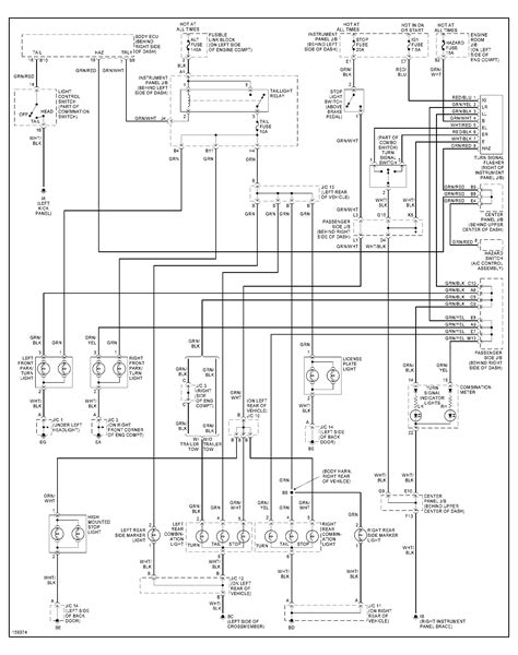 2013 Highlander Wiring Diagram by Why Would Only The Left Side Of A 2002 Toyota Highlander