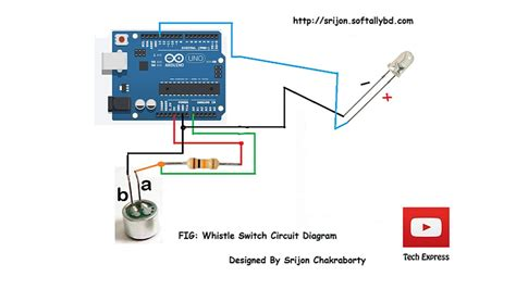 How Make Whistle Activated Light Switch With Arduino