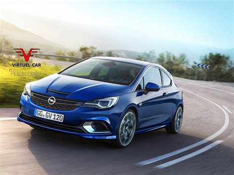 Opel Astra by 2017 Opel Astra Opc Rendered Could Use Tuned 1 6 Liter