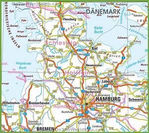 Terrassenüberdachung Baugenehmigung Schleswig Holstein : schleswig holstein road map ~ A.2002-acura-tl-radio.info Haus und Dekorationen