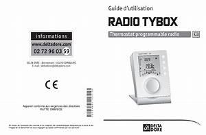 Thermostat Delta Dore Tybox 137 : delta dore tybox 137 manuels ~ Melissatoandfro.com Idées de Décoration