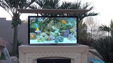 mirage vision outdoor wheather proof tv entertainment