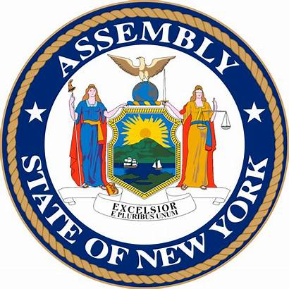 York State Assembly Seal Svg Wikipedia Commons