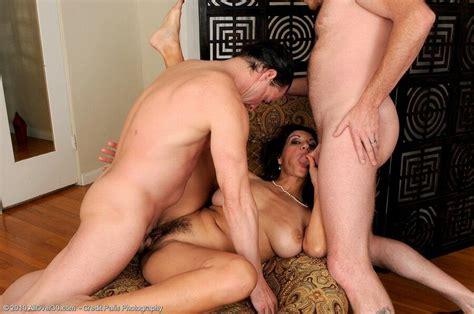 Persia Monir Busty Mom With Hairy Twat Fucks With Two Guys
