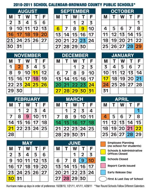 calendar broward lireepub