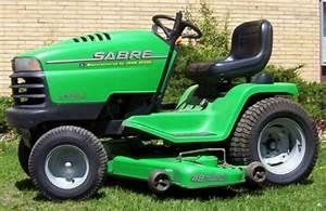 John Deere Sabre Series Lawn Garden Tractor Service Repair
