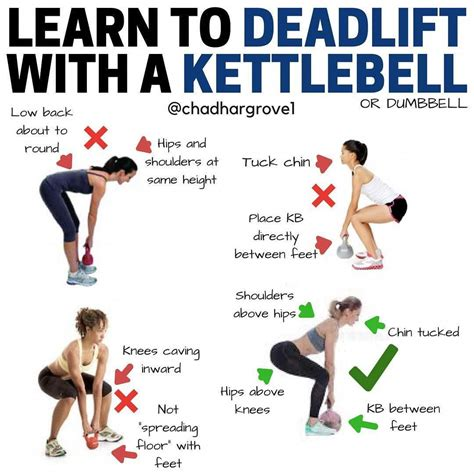 deadlift variations kettlebell exercises workout muscles lower challenge leg dumbbell most training welcoming swings total body club knees workouts gymguider