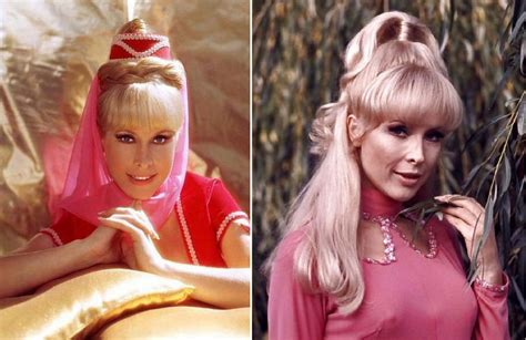glamorous   young barbara eden timeless beauty