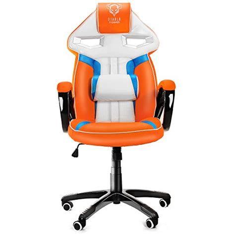 siege de bureau gaming diablo x gamer siège gaming racing chaise de bureau avec