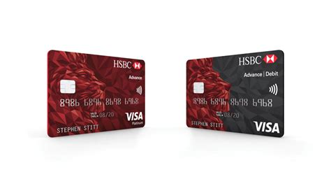 "Hsbc Rolls Out New ""simplified"" Bank Card Design"