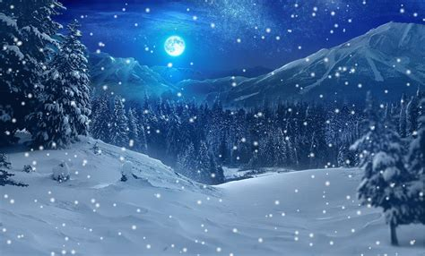 Animated Snowy Wallpaper - interesting facts about snow just facts