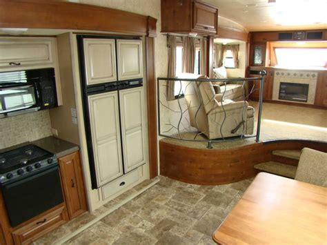 details about front living room fifth wheel with iron fence kool wheels