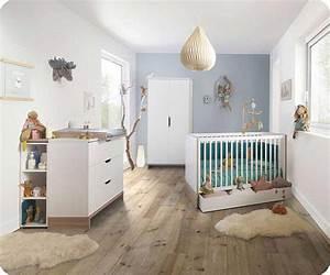 Chambre Bebe Fille Complete : chambre b b compl te plume blanche et bois ~ Teatrodelosmanantiales.com Idées de Décoration