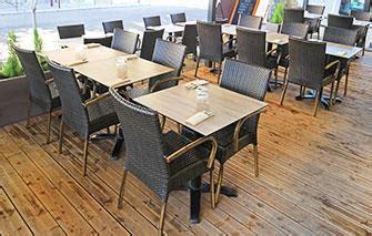 cuisiniste professionnel pour restaurant tables de terrasse pour restaurants et bars chr avenue com